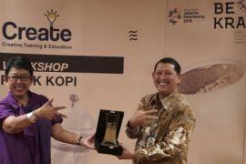 Bekraf tingkatkan kualitas peracik kopi Indonesia
