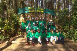 BUMN HADIR - SMN Kepulauan Riau belajar pelestarian hutan pinus