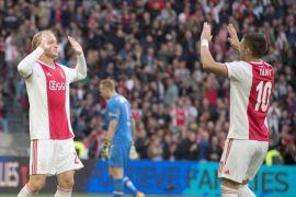 AZ Alkmaar dicukur gundul Ajax 0-5