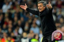 Jose Mourinho masih dipuja di Italia, meski terseok-seok melatih MU