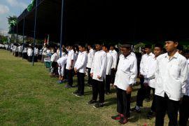 Ribuan santri Yogyakarta upacara peringatan Hari Santri