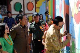 Gondomanan Yogyakarta miliki kawasan mural 200 meter