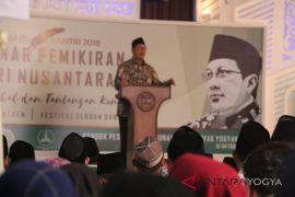 Menag membuka Muktamar Pemikiran Santri Nusantara