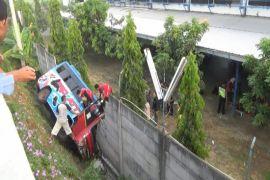 Polisi selidiki kecelakaan bus di Bantul