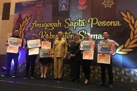 Sleman beri penghargaan Sapta Pesona Pariwisata