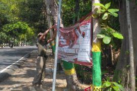 Bawaslu Kulon Progo tertibkan alat peraga kampanye