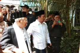 Ma'ruf Amin : Mahfud MD dukung pasangan Jokowi-Ma'ruf pada Pilpres 2019