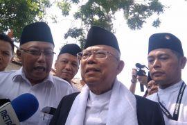 Ma'ruf Amin temui Sultan HB X bicarakan demokrasi