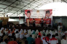 Posko relawan Prabowo-Sandi diminta segera dideklarasikan