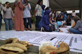 Mahasiswa UGM demo tuntut penuntasan kasus pelecehan seksual mahasiswi