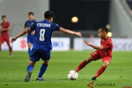 Timnas Indonesia kalah di Kandang Thailand
