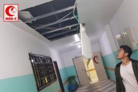 Rumah Sakit Indonesia di Gaza terkena dampak serangan Israel