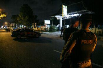 BAKU TEMBAK POLISI DI YOGYAKARTA