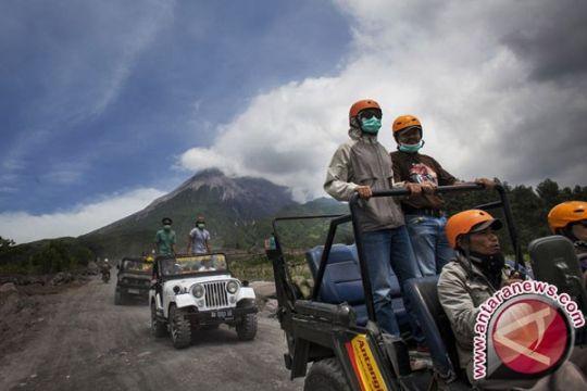 Operasional jip wisata Merapi dihentikan sementara pascakecelakaan