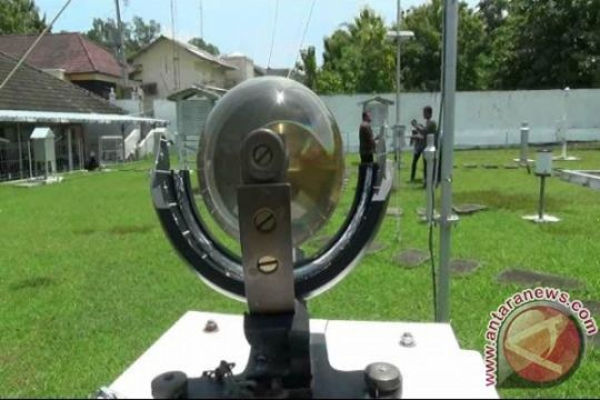 Suhu udara Yogyakarta mencapai 18 derajat Celcius