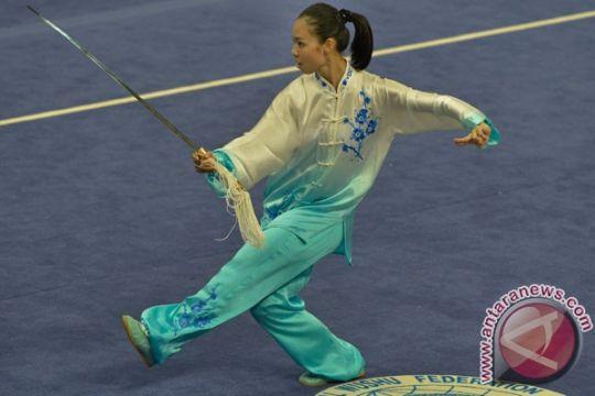Lindswell Kwok sabet emas wushu Asian Games untuk Indonesia