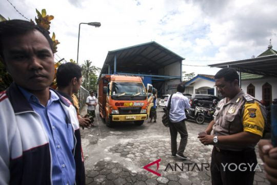 Ribuan air minum kemasan disita BBPOM Yogyakarta