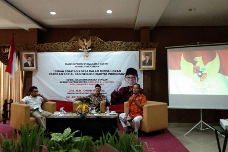 Legislator : ujung pemerintahan Indonesia ada di desa