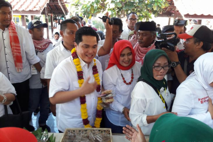 Eric Thohir hadiri Deklarasi Perempuan Indonesia Jokowi-Ma'ruf