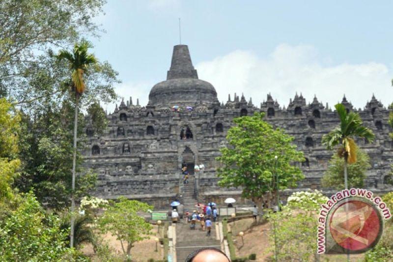 E Ticketing Candi Borobudur Untuk Mengetahui Pengunjung Antara
