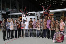 Wow, ditarget April Kontrak Pembelian, Tahun 2019 Pesawat N-219 Sudah Mendarat di Kaltara