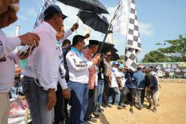Gubernur Buka Kejurnas Grasstrack di Sebatik