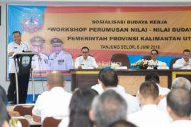 Se-Kalimantan, Baru Kaltara Tetapkan Nilai Budaya Kerja