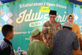 Open House Gubernur, Wagub dan Sekprov Disatukan