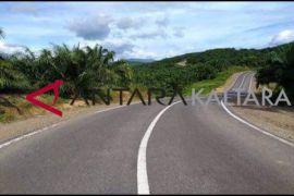 Pembangunan jalan perbatasan dari Sei Menggaris menuju Malaysia rampung