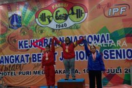 Atlet angkat besi Kaltara raih empat medali emas