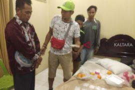 Bawa sabu dari Malaysia pria diringkus di hotel