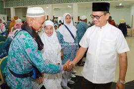 Sambut Kedatangan Jemaah Haji, Gubernur Berharap jadi Haji Mabrur