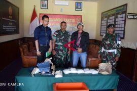 Yonif 613/RA amankan 5 kg sabu-sabu dari Malaysia