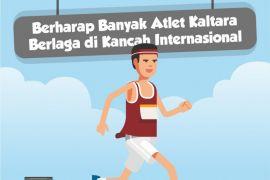 Berharap Banyak Atlet Kaltara Berlaga di Kancah Internasional