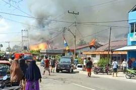 Kebakaran di Tanjung Selor