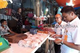 Kadin-Disdag Nunukan pantau harga daging ayam di pasar