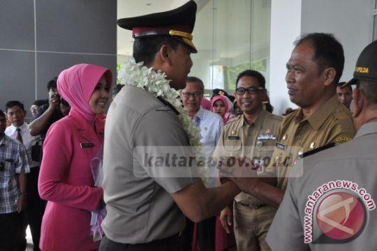 Gubernur Siap Dukung Kinerja Kapolda Baru