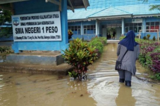 Banjir Bulungan surut