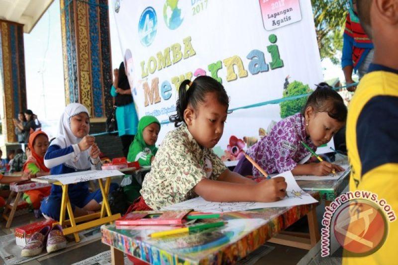 Ajarkan Anak Cinta Lingkungan Melalui Lomba Mewarnai Antara News