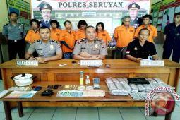 Polres Seruyan Tangani 50 Kasus Narkoba