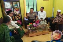Pererat Silaturahmi, Polres Sukamara Kunjungi Para Tokoh Agama