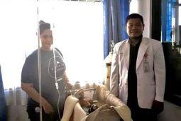 KNPI Barut Galang Dana untuk Penderita Hidrosefalus