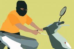 Pencuri Motor di Banjarmasin Ditangkap di Persembunyiannya di Kapuas