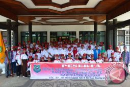 Kapuas Kirim 70 Peserta Ikrar Bersama Anak Bangsa