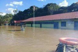 Ratusan Pelajar di Pedalaman Sungai Lahei Diliburkan