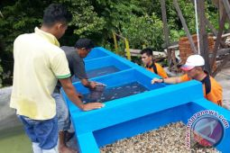 Ditpolairud Kalteng Bangun Penyaringan Air Bersih Untuk Masyarakat