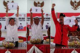 KPU undi nomor urut peserta Pilkada Seruyan, ini hasilnya