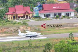 Hari pertama penerbangan, Susi Air Muara Teweh-Palangka Raya ramai penumpang