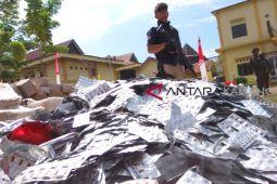 Polda Kalteng musnahkan jutaan pil zenith dan sabu