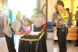 Kasat Intelkam Polres Sukamara berganti pejabat